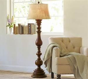 colette floor lamp base pottery barn With wooden floor lamp pottery barn
