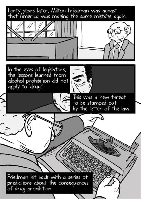 War on Drugs comic about drug prohibition laws - Stuart