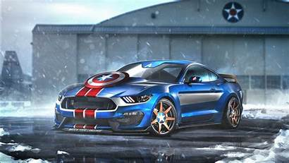 Mustang America Ford Captain Gt350r Wallpapers 1366