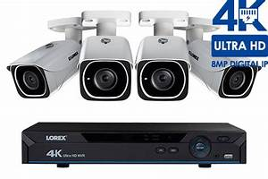 Lorex Ip Camera System With 4 Ultra Hd 4k Security Cameras