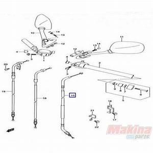 5820029g00 Clutch Cable Suzuki Gsxr