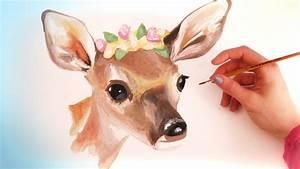 Simple Animal Watercolor Paintings | www.pixshark.com ...