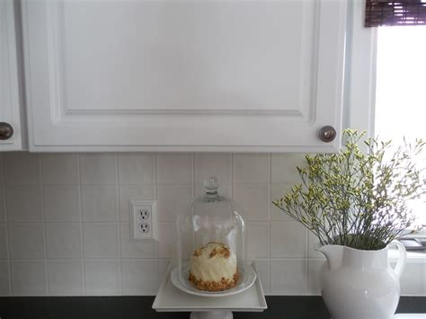 kitchen backsplash paint diy painting a ceramic tile backsplash