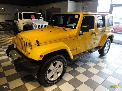 yellow jeep wrangler unlimited detonator yellow 2011 jeep wrangler unlimited sahara 4x4
