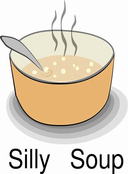 Clipart Soup Silly Clip Title Cliparts Cartoon