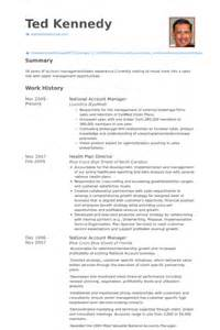 national account sales manager resume national account manager resume sles visualcv resume