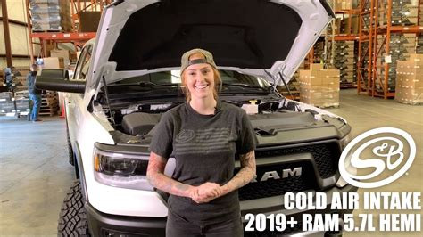 install  sb cold air intake    ram