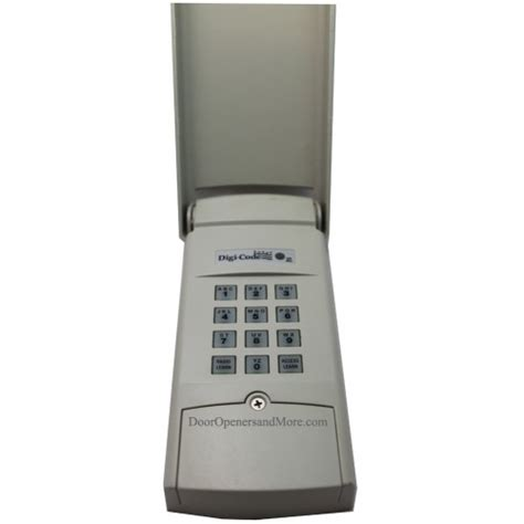 garage door keypad codes digi code 5202 310mhz garage door opener wireless keypad stanley 2986 compatible