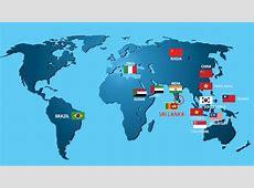 Sri Lanka World Map grahamdennisme