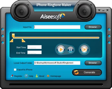 ringtone maker for iphone aiseesoft iphone ringtone maker iphone 3g ringtone maker