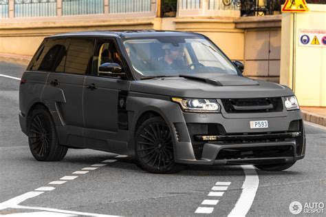 land rover hamann range rover mystere  march