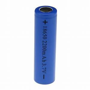 Rechargeable 3 6v 18650 2200mah Battery - Blue