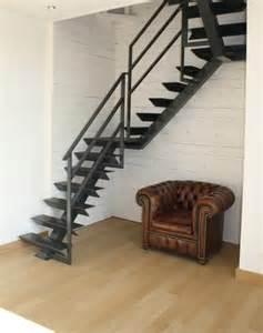 Escalier Industriel by Escalier De Style Industriel En M 233 Tal Noir Ai Concept