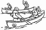 Drawing Canoe Canoeing Pages Paddle Template Coloring Canoes Clipart Scout Painting Sketch Indian Sheet 1st Lone Ranger Getdrawings Scouts sketch template