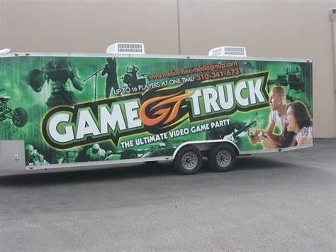 Mobile Video Gaming Truck
