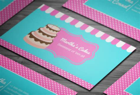 20+ Delicious Bakery Business Card Templates Staples Business Card Cost Holders In Johannesburg Creative Sites Cheap Printing Vertical Free Equipment Suppliers Footscray Sri Lanka