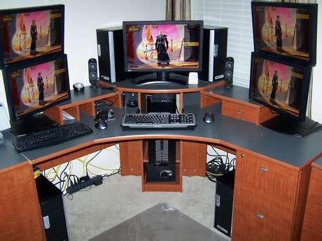 computer desks for geeks geek computer station 1 exciteing com