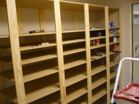 food storage shelves  havent   diy plans food