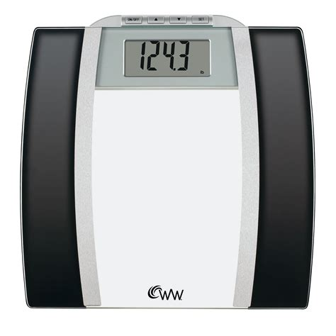 conair weight watchers ww digital glass bath scale