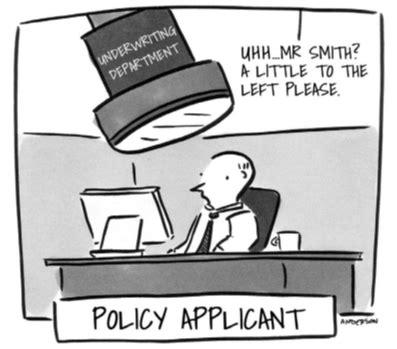 As insurance expert, laura adams said, remember that certain life events. life insurance underwriting cartoon - Simplis Life Insurance