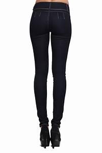 TheMogan No Back Pocket Booty Rinced Skinny Jeans INDIGO DENIM SLIM FIT PANTS | eBay