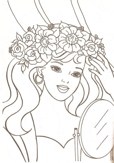 Coloring Pages by Miss Paper Dolls Coloring Pages Part 1
