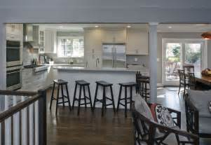 raised ranch kitchen ideas a raised ranch opened up white kitchens