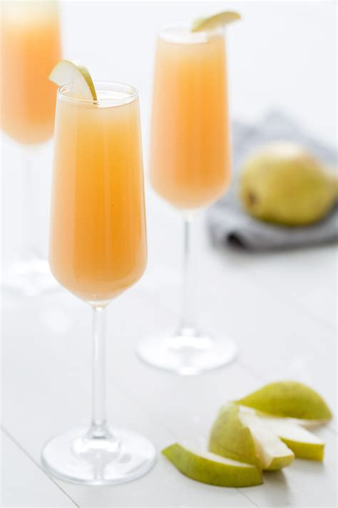 best mimosas best pear mimosas recipe how to make pear mimosas