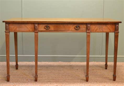 antique mahogany console table edwardian mellow mahogany antique console table antiques 4112