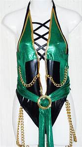 Jade from Mortal Kombat Costume Woman's Costume One Piece