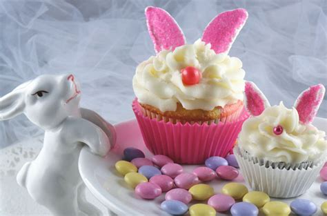 bunny cupcakes  sisters