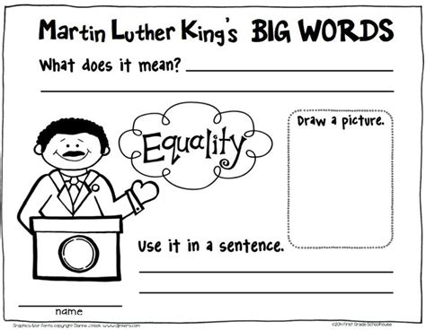 Martin luther king jr worksheets ivoiregion martin luther king jr lesson 3rd grade celebrating martin luther king jr day free daily ibookread PDF
