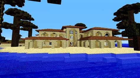 big minecraft houses minecraft beach house ideas beach