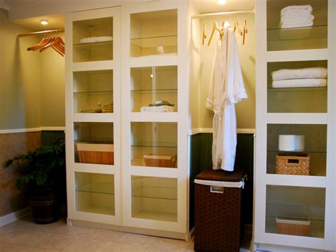 bathroom closet shelving ideas small bathroom storage ideas