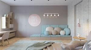 deco chambre couleur meilleures images d39inspiration With awesome mur couleur lin et gris 11 decoration maison peinture mur exemples damenagements