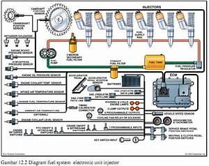 Mesin Diesel  Fuel System Pada Caterpillar