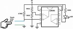 lm393 comparator how it works eczaproductosebco With touch switch circuit 555 articlequot 555 timer circuits analog circuits