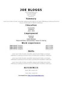 modern curriculum vitae templates free tahoma simple cv template how to write a cv