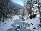 File:The Jachen stream on a sunny winter day (Bavaria ...