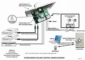 Ceiling Speaker Volume Control Wiring Diagram