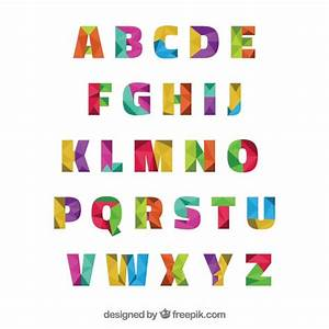 Alphabet vectors photos and psd files free download for Photo alphabet letters download