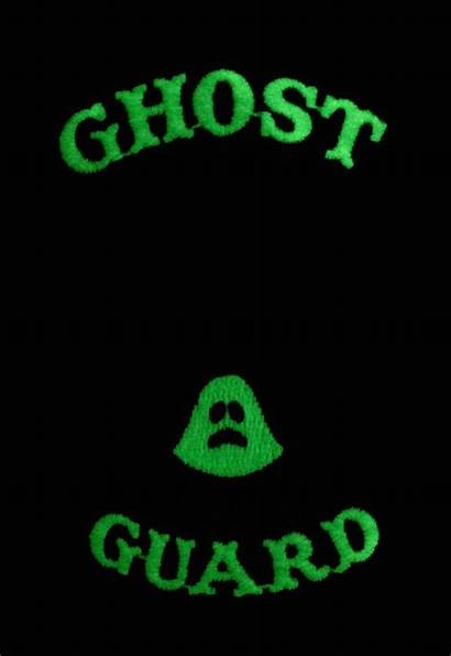 Ghost Investigator Paranormal Guard Glow Patch Dark