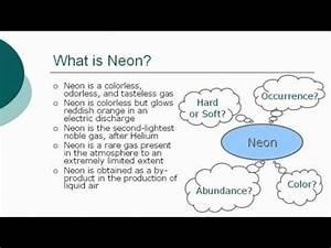 Neon Chemical Element VideoLike