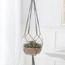 tuto macramé suspension macram 233 plant hanger crochet home decor macram 233 macrame plant and macrame diy