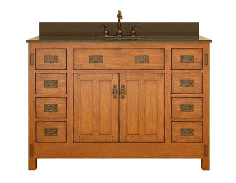 Sagehill Designs Ac4821d Rustic Oak American Craftsman 48