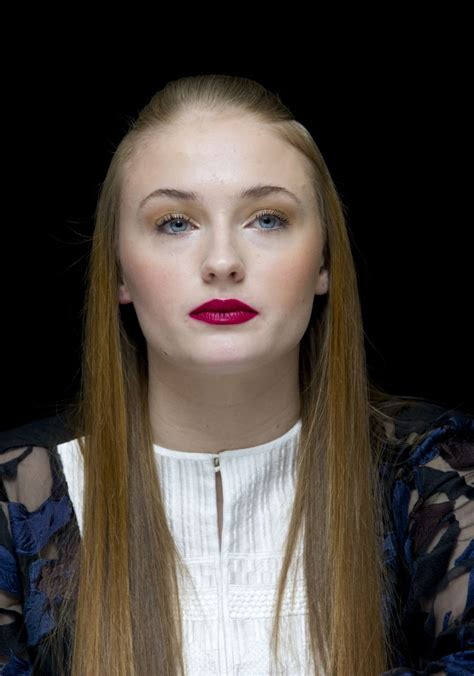 SOPHIE TURNER at Game of Thrones Season 4 Press Conference ...