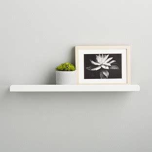 Small White Shelf by Ledge Shelves Umbra Simple Ledge Wall Shelf The