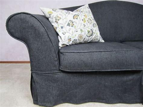 denim sofa cover denim slipcover slipcovers