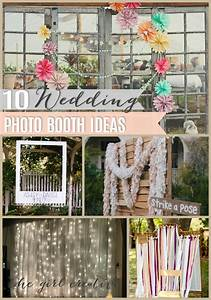10 diy wedding photo booths the girl creative for Wedding photo booth ideas