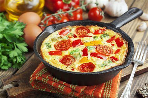 Svētdienas brokastīs svētku omlete